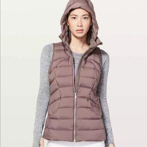 Lululemon pack it down vest mauve 6